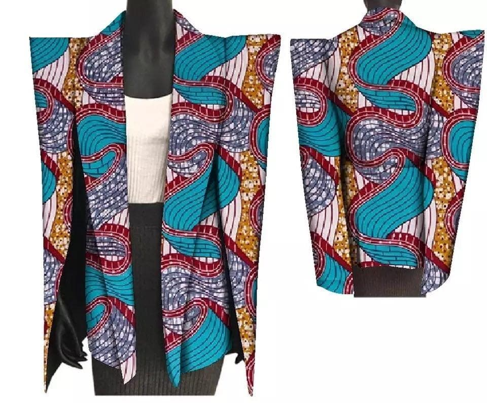 Pattern Slit Sleeve Jacket - Lyse Collection