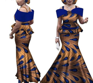 Queen of Ashanti African Print Skirt Set - Lyse Collection