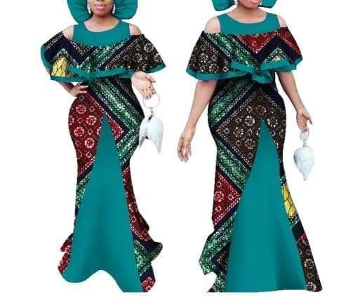 Queen of Dorobo African Print Dress - Lyse Collection