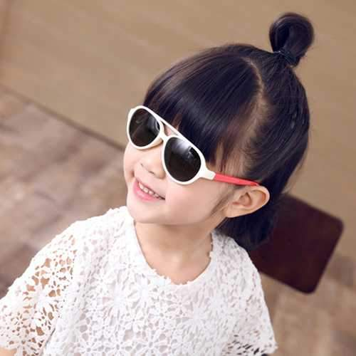 Children Vintage Anti-UV Sunglasses Summer Outdoor Sports Sunscreen Polarized Eyewear