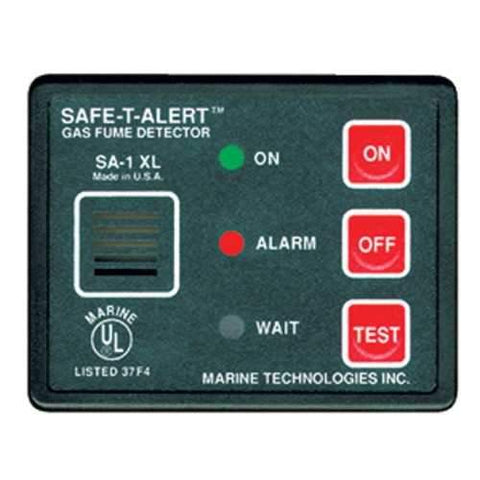 Safe-T-Alert Gas Vapor Fume Alarm - Surface Mount - Black