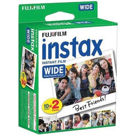 Fujifilm Instax Wide Film Twin Pack (pack of 1 Ea)