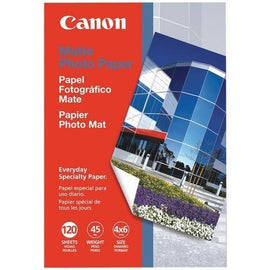 "Canon Matte Photo Paper (4"" X 6""; 120 Pk) (pack of 1 Ea)"