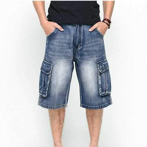 Big Size Denims Shorts For Men