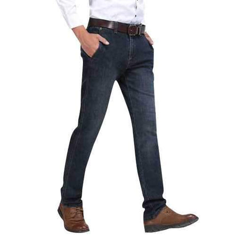 Cotton Straight Outdor Casual Jeans