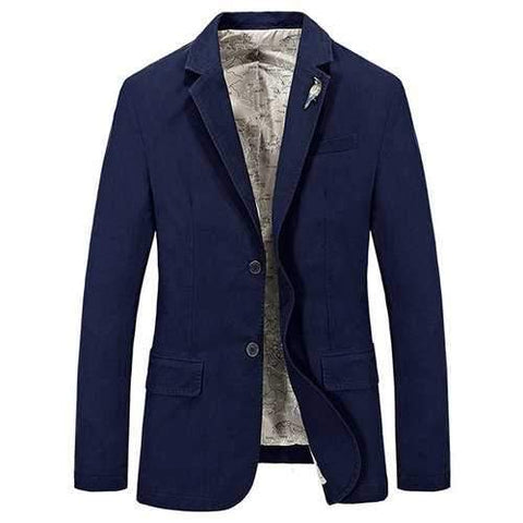 Military Solid Color Coat Jacket Suit
