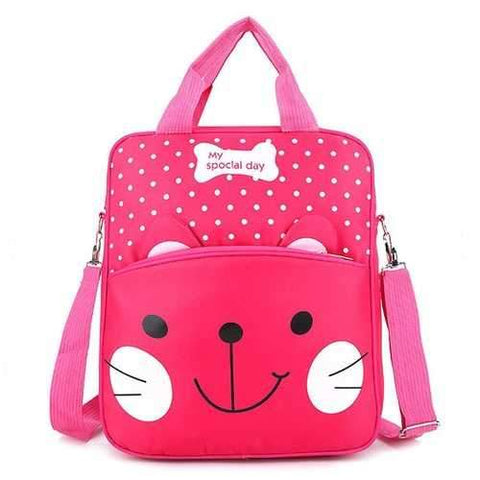 Children Nylon Waterproof School Bag