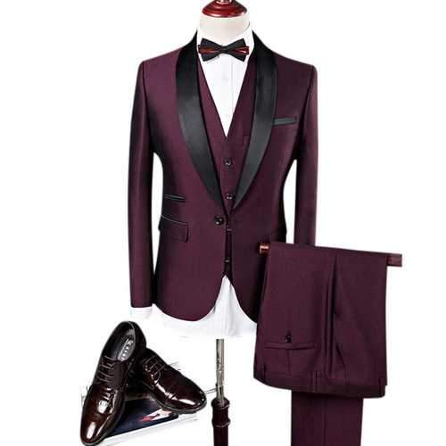 Men Three Pieces Suits