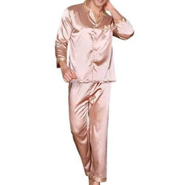 Silk Soft Breathable Pajamas Set