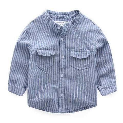 Spring Boys Striped Shirt For 2Y-11Y