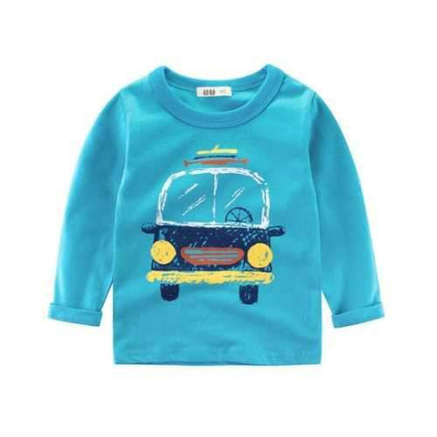 Baby Boy Long Sleeve Tops