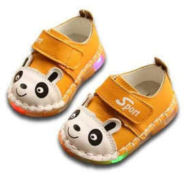 Baby Girls Boys Led Light Shoes For 0-24M