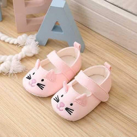 Cat Baby Girls Shoes For 0-24M