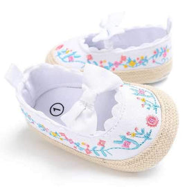 Flower Baby Girls Flats For 0-24M