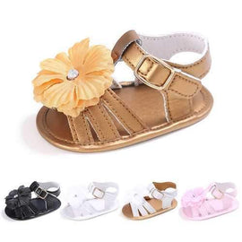 Flower Baby Girls Sandals For 0-24M
