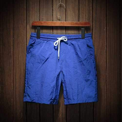 Casual Quickly Dry Beach Solid Color Board Shorts