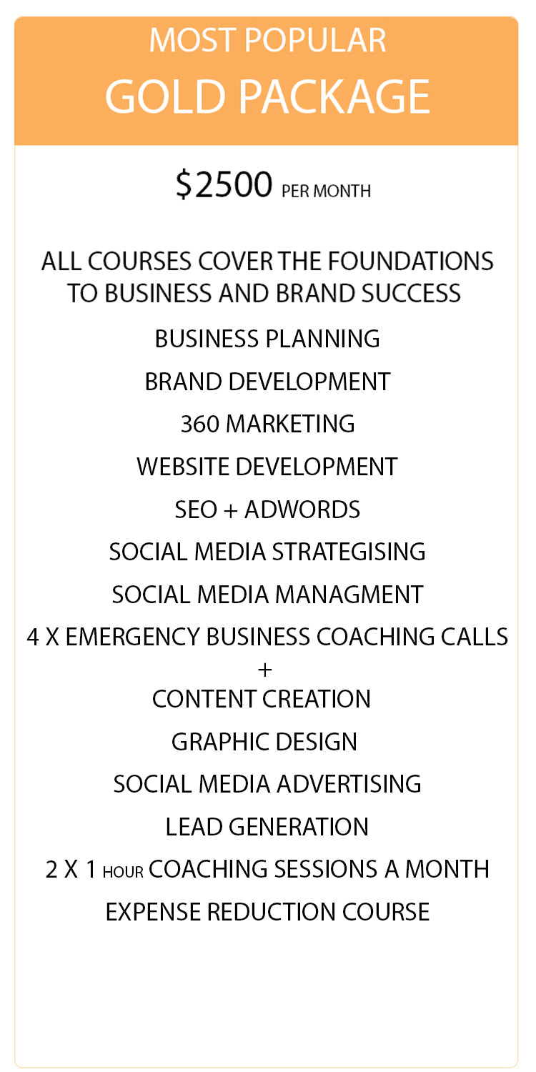 Digital Marketing Package - Gold | Social Pirate Co - Socialpirateco