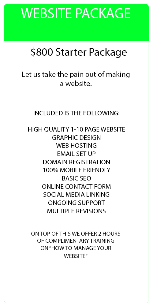Web Site Package