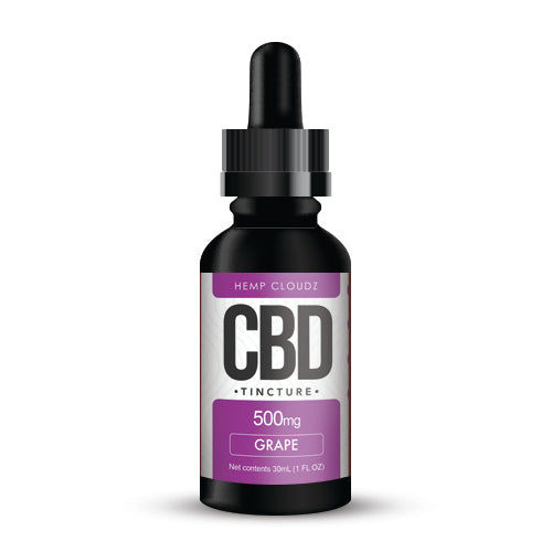 CBD Tincture - Grape Flavor