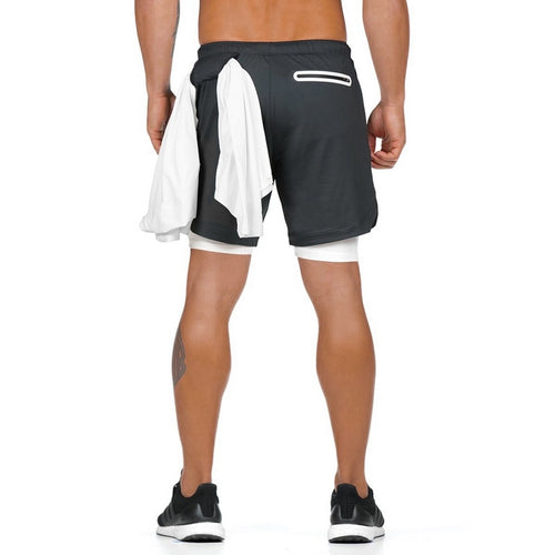 Black Ultimate 3-in-1 Secure Pocket® Shorts