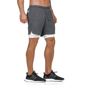 Grey Ultimate 3-in-1 Secure Pocket® Shorts