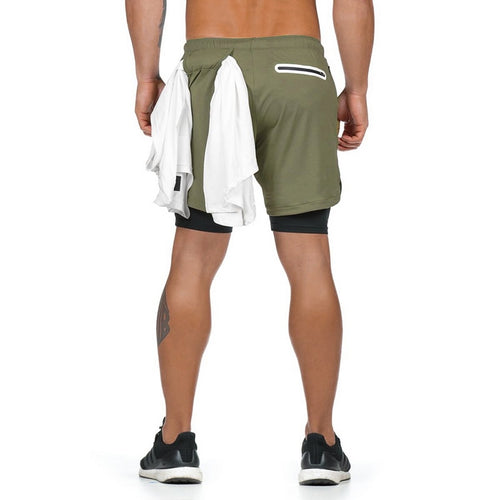 Green Ultimate 3-in-1 Secure Pocket® Shorts