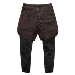 Long Camo Ultimate 3-in-1 Secure Pocket® Shorts