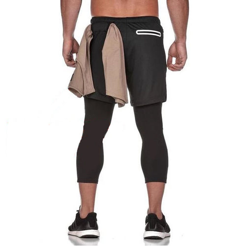 Long Black Ultimate 3-in-1 Secure Pocket® Shorts