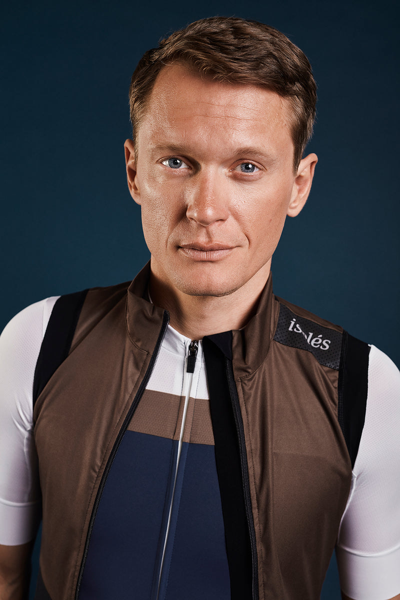 JULES GILET ALMOND BROWN ECO
