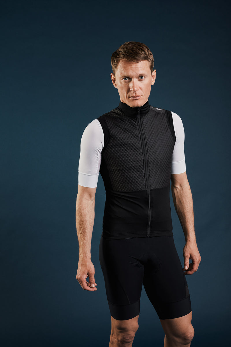 PAUL PNEUMATIC GILET BLACK ECO