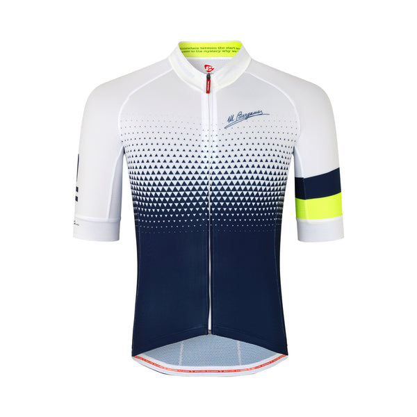 77MB COMO DOT KORT TRIKOT - NAVY / WHITE