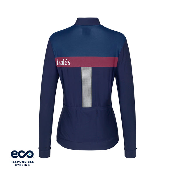 WOMEN'S JULES SUMMER JERSEY LS NAVY ECO