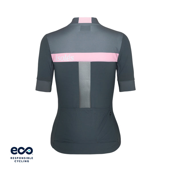 WOMEN'S JULES JERSEY STEEL GREY / MISTY ROSE ECO