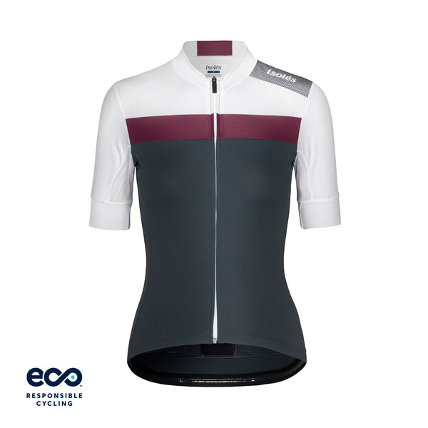 WOMEN'S JULES JERSEY STEEL GREY / WHITE ECO