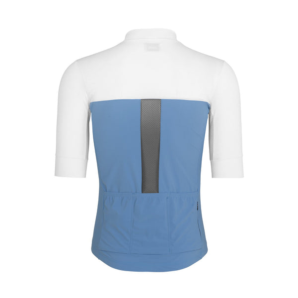 CHARLES JERSEY PLACID BLUE / WHITE