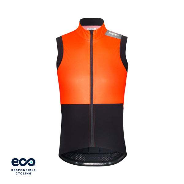 JULES GILET NEON ORANGE ECO