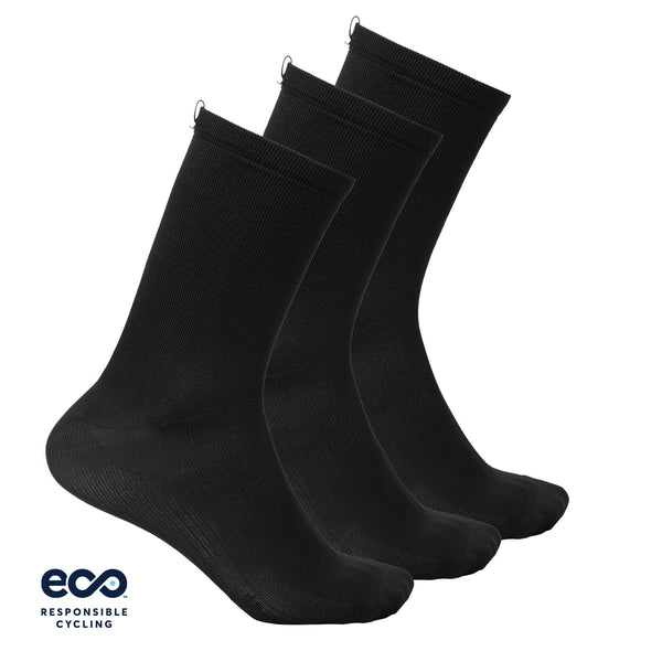 PAUL SOCKS BLACK ECO - 3-PACK