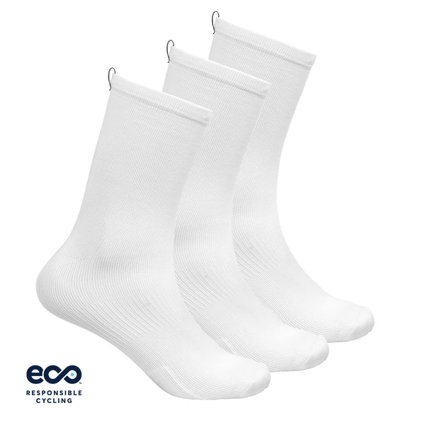 PAUL SOCKS WHITE ECO - 3-PACK