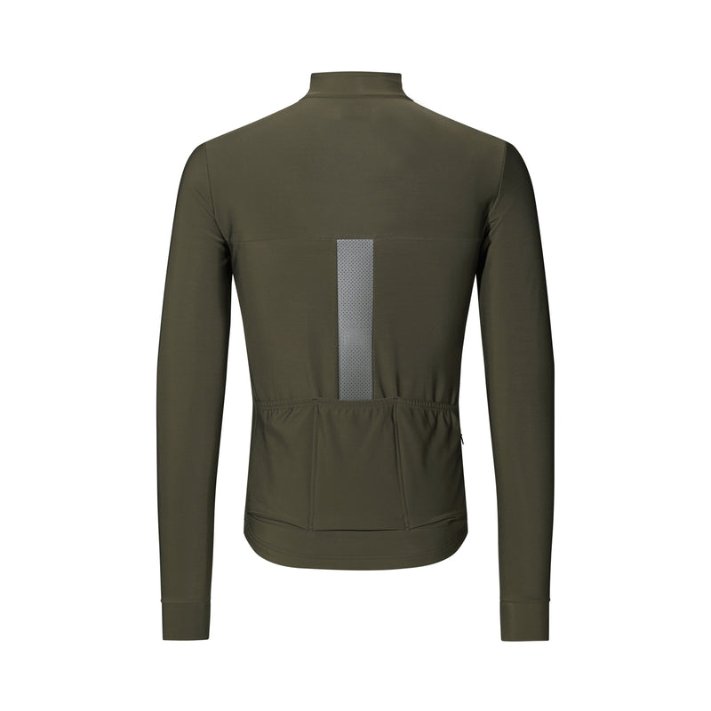 PAUL JERSEY LS OLIVE GREEN
