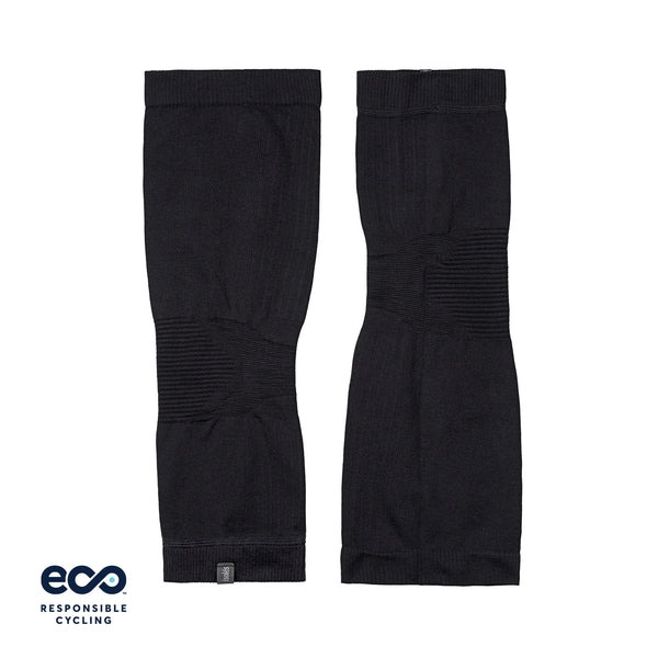 PAUL SEAMLESS KNEE WARMERS BLACK ECO