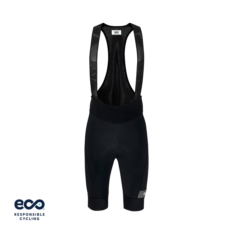 PAUL BIB SHORTS BLACK ECO - EXTRA LONG
