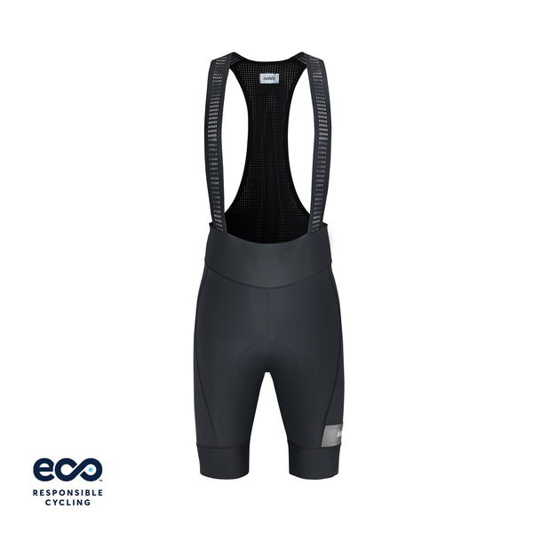PAUL BIB SHORTS STEEL GREY ECO