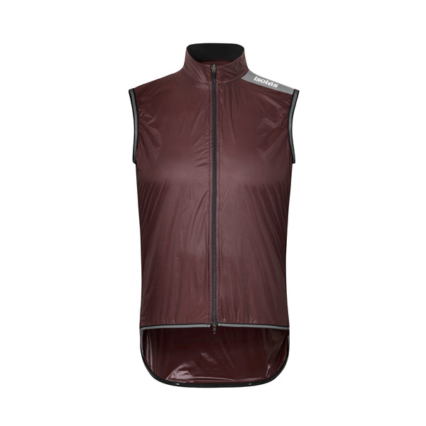 PAUL LIGHTWEIGHT GILET POMPEII RED