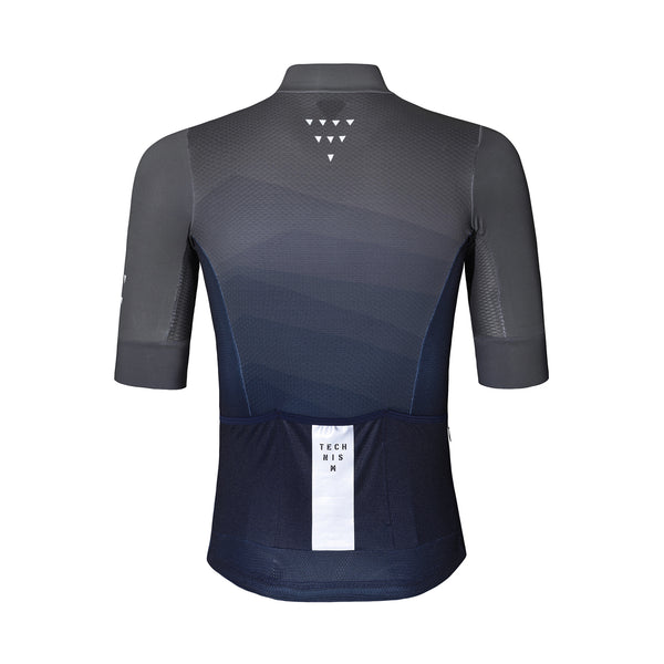 Waves Kort Trikot - Navy/Grå
