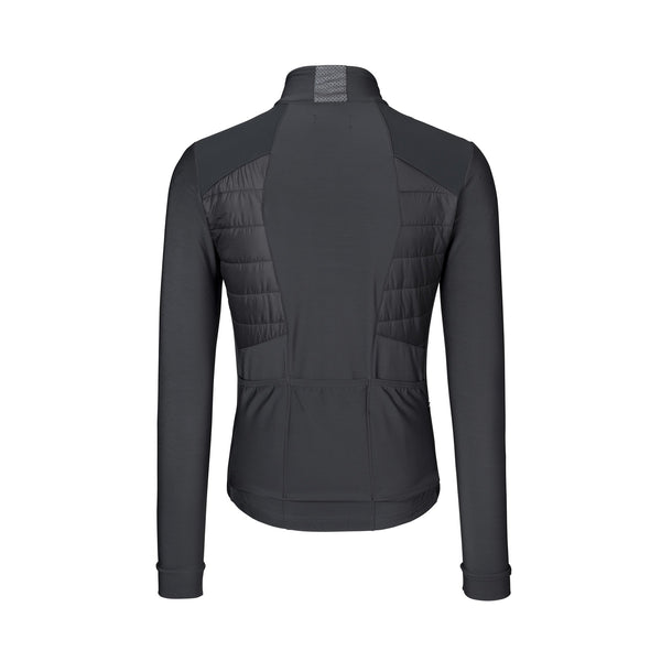 PAUL PADDED JERSEY LS STEEL GREY