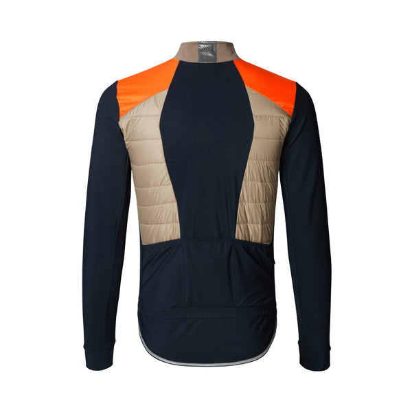 VINCENT NORDIC WINTER JACKET NAVY/NEON ORANGE