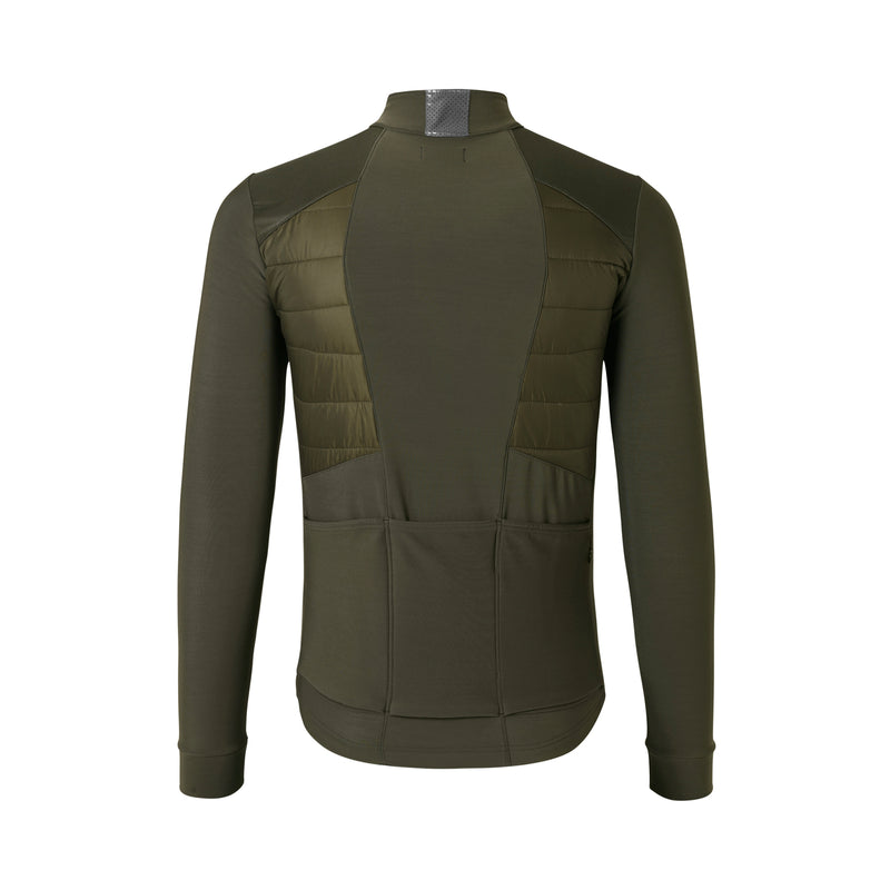 VINCENT WINTER JERSEY OLIVE GREEN