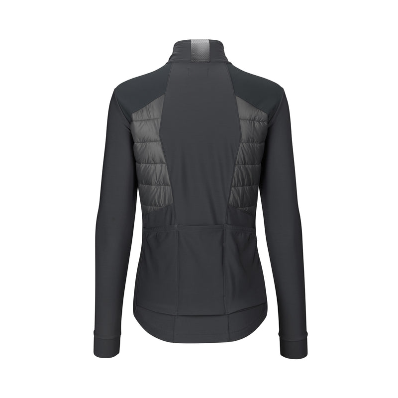 WOMEN'S PAUL PADDED JERSEY LS STEEL GREY