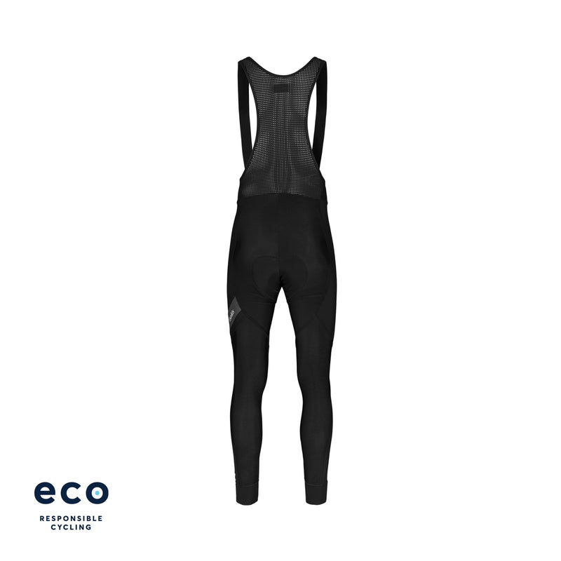 PAUL SHELTER DEEP WINTER BIB TIGHT BLACK ECO - WITH CHAMOIS