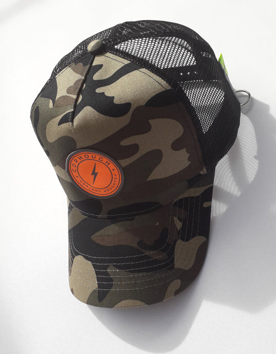 CAMO SNAP-BACK CAP - 50% off marked price